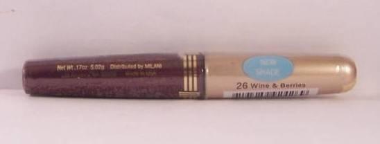 MILANI Lip Gloss Lipgloss - WINE & BERRIES 26 - New & Sealed
