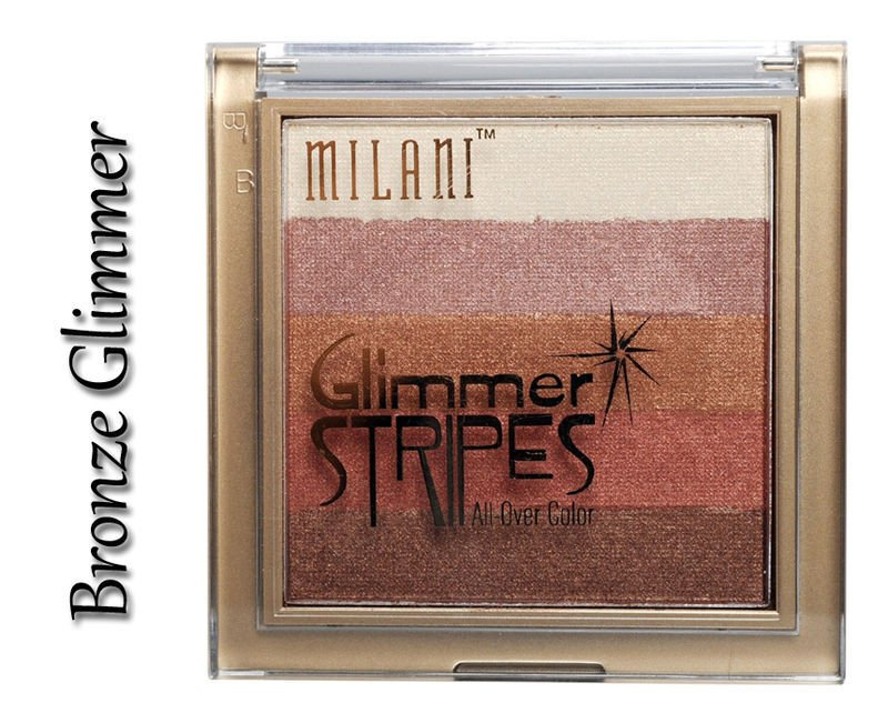 MILANI Glimmer Stripes 08 BRONZE GLIMMER - FACE,CHEEK & EYE COLOR