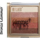 MILANI Glimmer Stripes 08 BRONZE GLIMMER - FACE,CHEEK & EYE COLOR