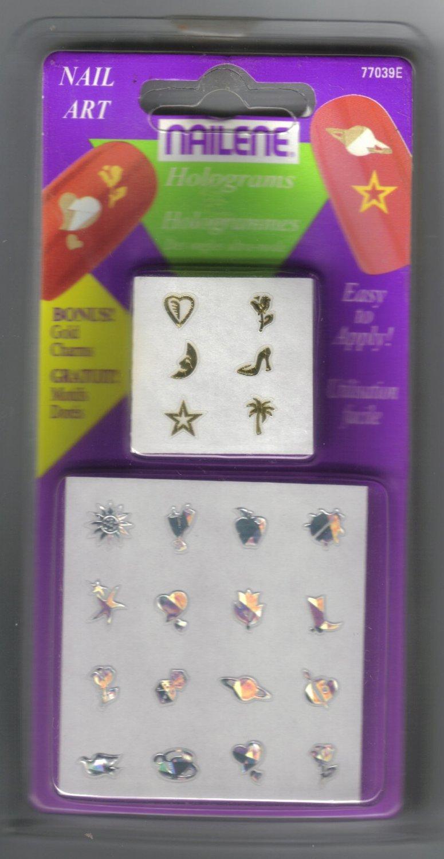 NAILENE Nail Art Holograms 77039E - NEW