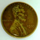 1930 Wheat Penny, Philadelphia mint - VERY GOOD CONDITION