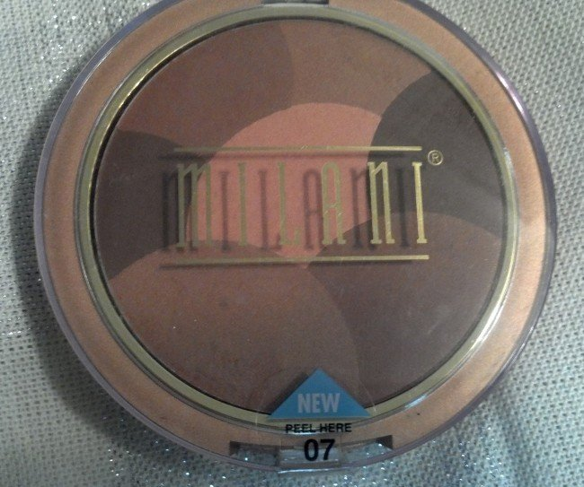 MILANI Mosaics Powder #07 AFTERGLOW - RARE
