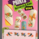 Lot of 3-Fing'rs Nail Art Decals*Butterflies & Birds*Fingers/Toes Nail Art-1513