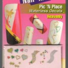 Lot of 3-Fing'rs Nail Art Waterless Decals*Heavenly*Fingers & Toes Nail Art-1511