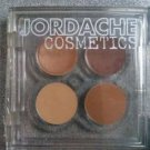 2 JORDACHE COSMETICS WARMS NEUTRAL SHADES QUAD CREAM EYE SHADOW