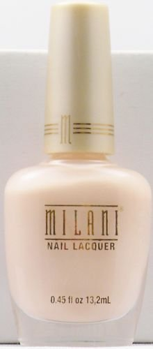 Lot of 4 - MILANI NAIL POLISH LACQUER #308 Baby Pink - RARE