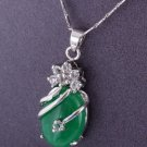 2-10-2013 Chinese New Year - Green Malaysian Jade Necklace #4