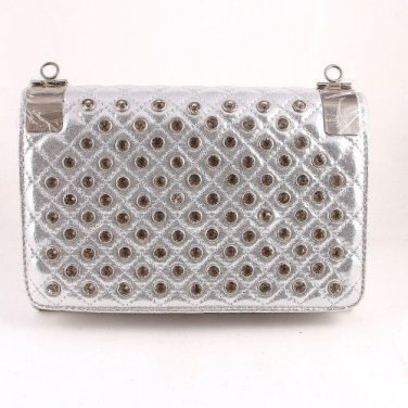 High End Quality Modern Clutch Bag with Crystal - Choice of 3 colors