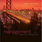 Management 3rd Edition by Angelo Kinicki 0073530190