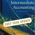 Intermediate Accounting, Update 12th Ed. by Donald E. Kieso 0470128747