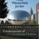 Fundamentals of Corporate Finance 7th Ed. by Stephen Ross 0073134295