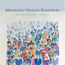 Managing Human Resources 13th Ed. by George W. Bohlander 0324184050