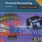 Financial Accounting: The Impact on Decision Makers 3rd by Gary A. Porter 0030336961