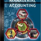 Managerial Accounting: Information for Decisions 3rd by Robert W. Ingram 0324159889