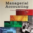 Managerial Accounting 3rd by Greg Jenkins 0324304161