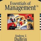 Essentials of Management 7th by Andrew J. DuBrin 0324321104