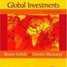 International Investments 5th by Dennis W. McLeavey 0201785684
