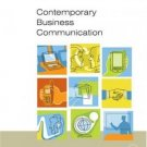 Contemporary Business Communication 6th by Scot Ober 0618472525