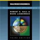 Macroeconomics: Principles and Applications, 2006 Update 3rd by Robert E. Hall 0324374240