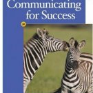 Communicating For Success 3rd by Ann Jordan 0538728663