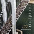 Management: A Practical Introduction 2nd by Angelo Kinicki 0072920378