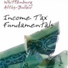 Income Tax Fundamentals 24th by Gerald E. Whittenburg 0324399022