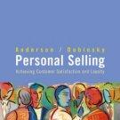 Personal Selling by Alan J. Dubinsky 0618260455