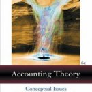 Accounting Theory 6th by James L. Dodd 0324186231