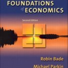 Foundations of Economics 2nd by Michael Parkin 0321178564