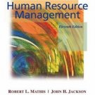 Human Resource Management 11th by Robert L. Mathis 0324289588