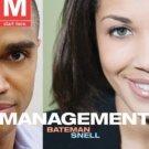 Management by Thomas S. Bateman 0077258398