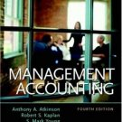 Management Accounting 4th by Atkinson 0130082171