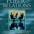 Public Relations: Strategies and Tactics 7th by Dennis L. Wilcox 0205404537