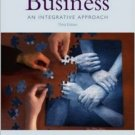 Business: An Integrative Approach 3rd by Fred Fry 0072845309
