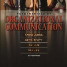 Fundamentals of Organizational Communication 6th by Pamela S. Shockley-Zalabak 0205453503