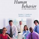 Human Behavior in Organizations by Rodney C. VanDeVeer 0131466569
