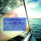 Government by the People - 8th Edition Magleby, David B. 020566637X