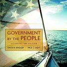 Government by the People - 23rd Edition Magleby, David B. 0136050409