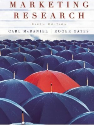 Marketing Research 6th by Carl McDaniel 0471455199