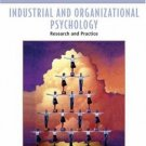 Industrial and Organizational Psychology: Research and Practice 4th by Paul E. Spector 0471690996