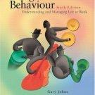Organizational Behaviour 6th by Alan M. Saks 0131270494