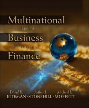 Multinational Business Finance 10th by Eiteman 0201785676