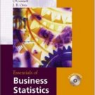 Essentials of Business Statistics by Bruce L. Bowerman 0072869240