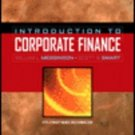 Introduction to Corporate Finance by L. Megginson 0030350042