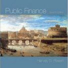 Public Finance 7th by Harvey S. Rosen 0072876484