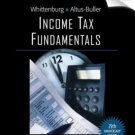 Income Tax Fundamentals, 2007 Edition 25th by Gerald E. Whittenburg 032439926X