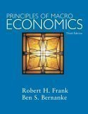 Principles of Macroeconomics 3rd by Robert H. Frank 0073193976