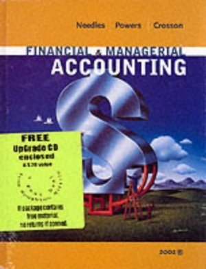 Financial and Managerial Accounting 6th by Marian Powers 0618145303