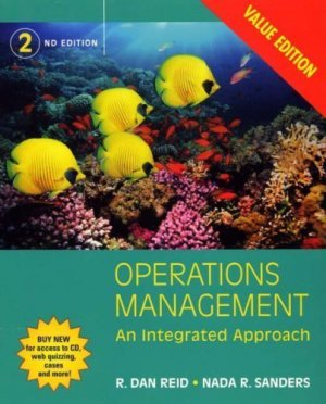 Operations Management 2nd by R. Dan Reid 0471745278