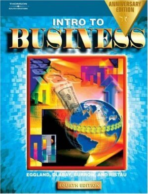 Introduction to Business 4th by Eggland 0538435208